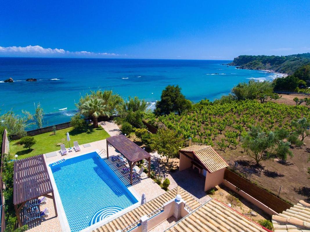 Beachfront Villa for Sale Corfu Greece