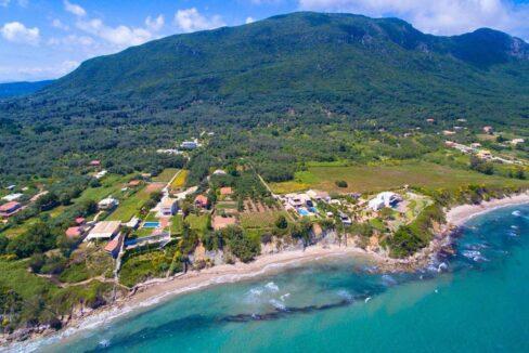 Beachfront Villa for Sale Corfu Greece, Corfu Seafront Properties for sale 34