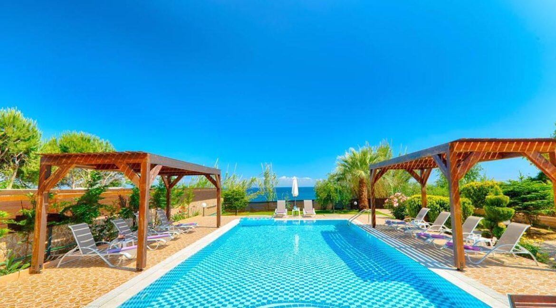 Beachfront Villa for Sale Corfu Greece, Corfu Seafront Properties for sale 35