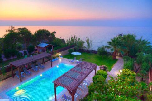 Beachfront Villa for Sale Corfu Greece, Corfu Seafront Properties for sale 4