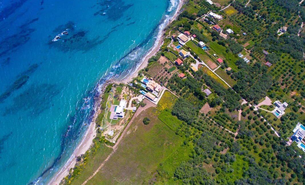 Beachfront Villa for Sale Corfu Greece, Corfu Seafront Properties for sale 5