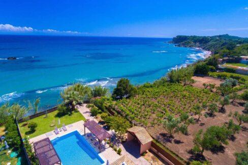 Beachfront Villa for Sale Corfu Greece, Corfu Seafront Properties for sale 8