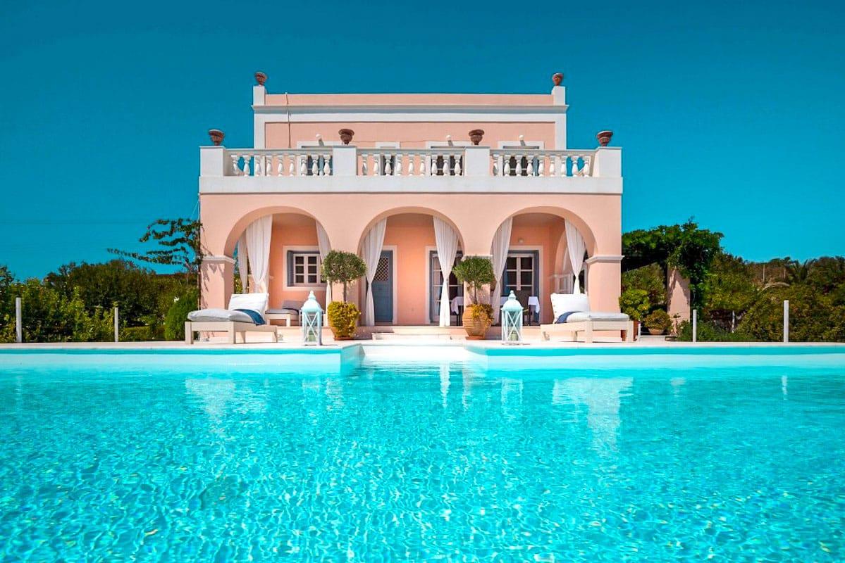 Beautiful Villa in Syros Island Cyclades Greece