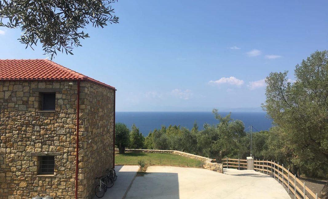 Beautiful villa Sithonia Halkidiki. Hill top Villa Halkidiki Greece for sale 11