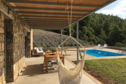 Beautiful villa Sithonia Halkidiki. Hill top Villa Halkidiki Greece for sale 16