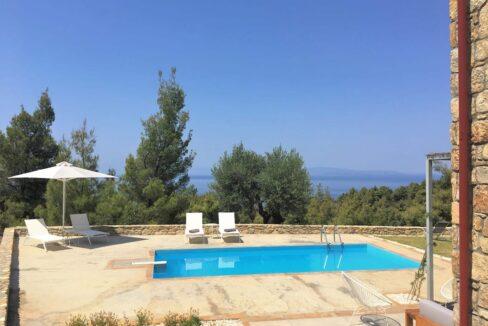 Beautiful villa Sithonia Halkidiki. Hill top Villa Halkidiki Greece for sale 17
