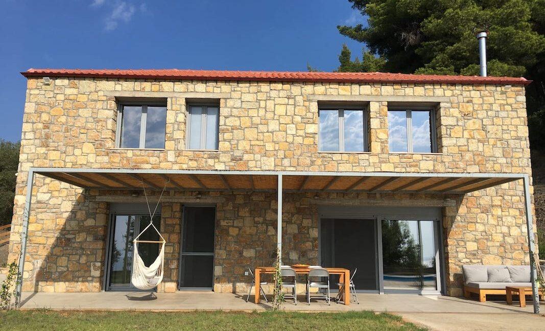Beautiful villa Sithonia Halkidiki. Hill top Villa Halkidiki Greece for sale 18