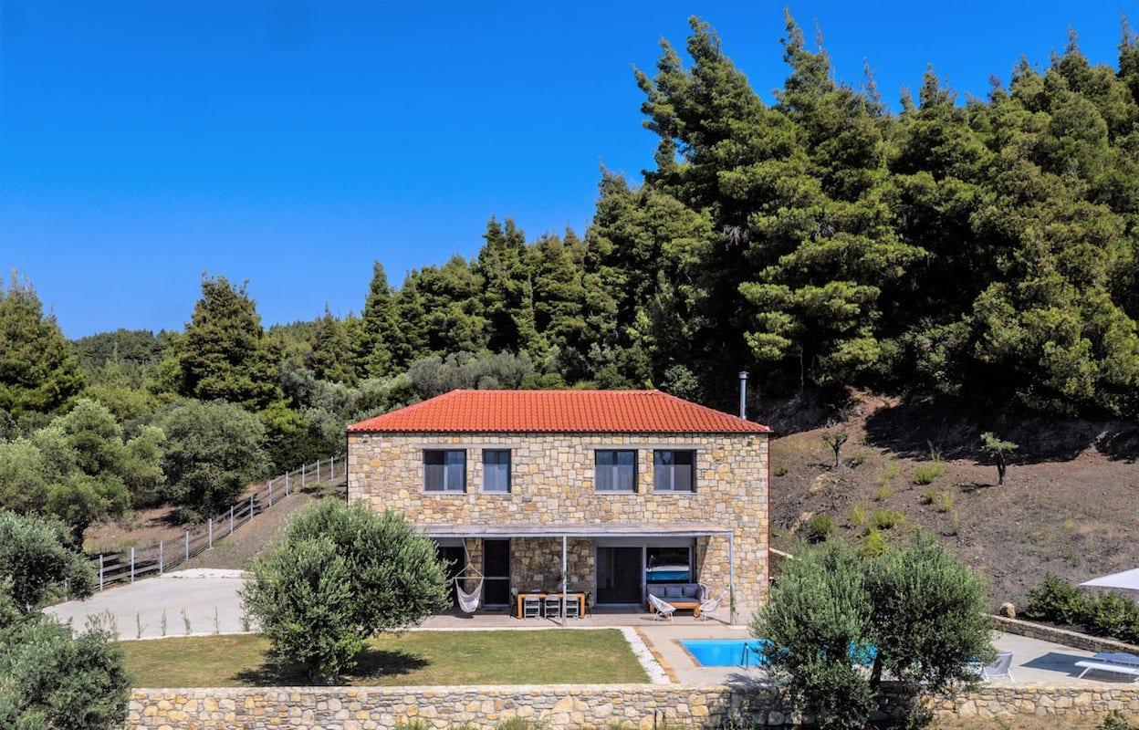 Beautiful villa Sithonia Halkidiki, Eleonas