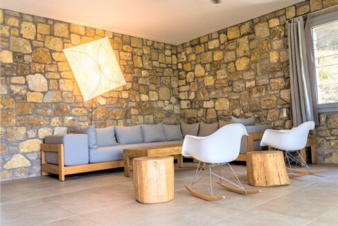 Beautiful villa Sithonia Halkidiki. Hill top Villa Halkidiki Greece for sale 25