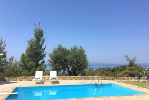 Beautiful villa Sithonia Halkidiki. Hill top Villa Halkidiki Greece for sale 26
