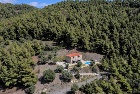 Beautiful villa Sithonia Halkidiki. Hill top Villa Halkidiki Greece for sale 6