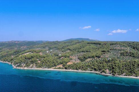Beautiful villa Sithonia Halkidiki. Hill top Villa Halkidiki Greece for sale 7