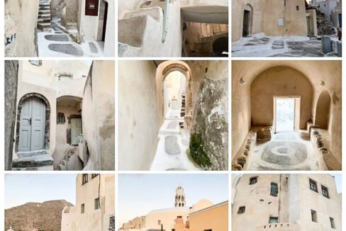 House at Kasteli Santorini for Sale with 2 Bedrooms. Santorini Houses for sale 1