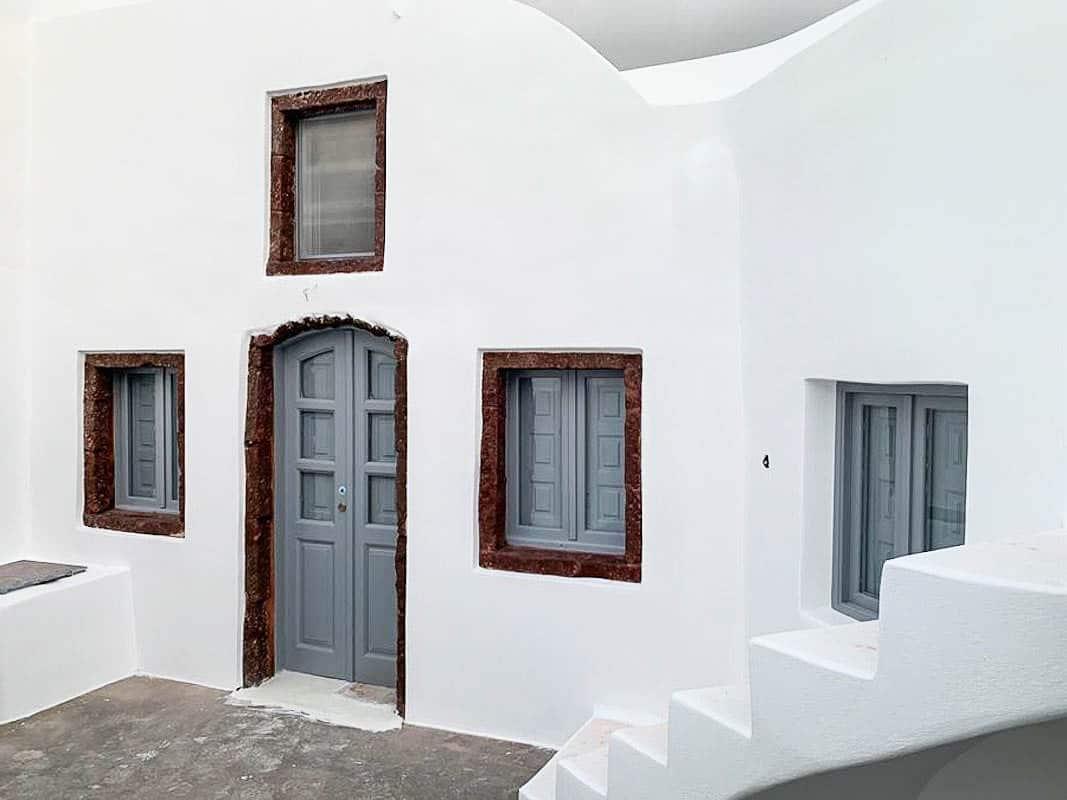 House at Kastelli Emporio Santorini