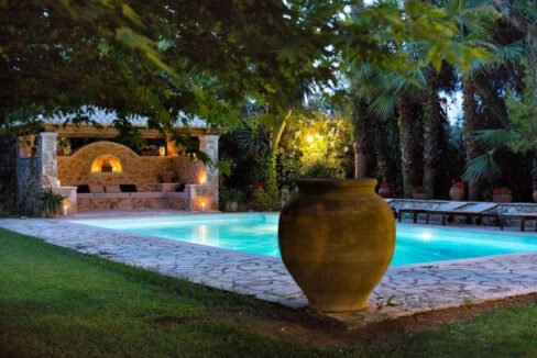Luxury Seafront Villa in Corfu Greece for sale 14