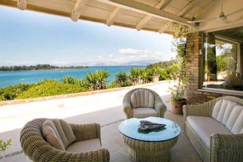 Luxury Seafront Villa in Corfu Greece for sale 23