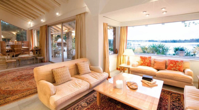Luxury Seafront Villa in Corfu Greece for sale 28