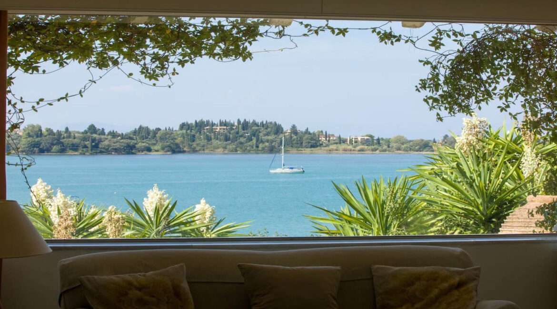 Luxury Seafront Villa in Corfu Greece for sale 29
