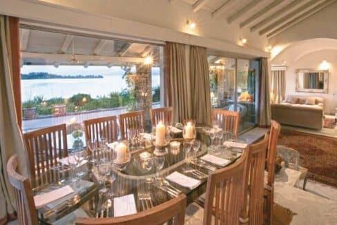 Luxury Seafront Villa in Corfu Greece for sale 30