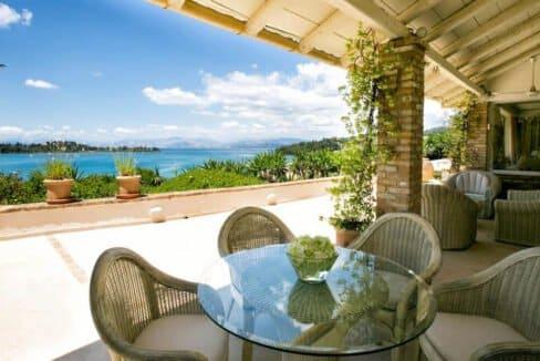 Luxury Seafront Villa in Corfu Greece for sale 39