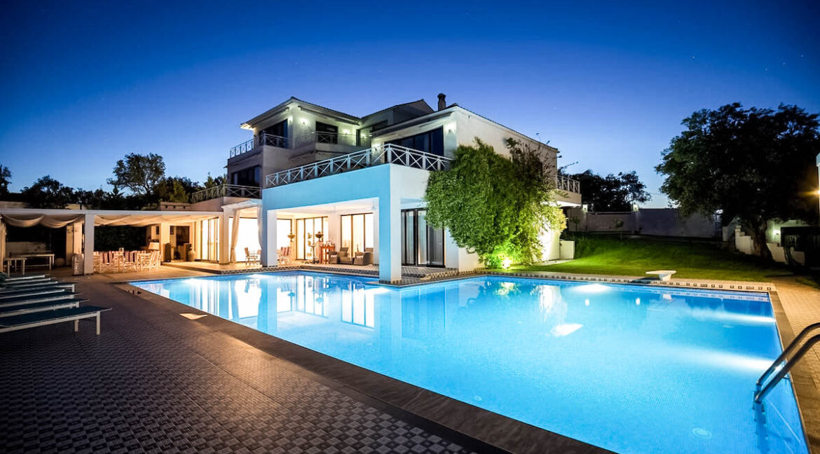 Luxury Villa for sale in Corfu Greece, Gouvia. Corfu Homes for Sale