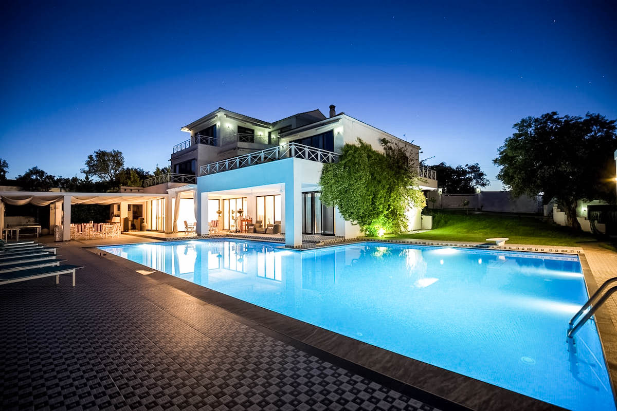 6 bedroom Luxury Villa for sale in Corfu, Gouvia
