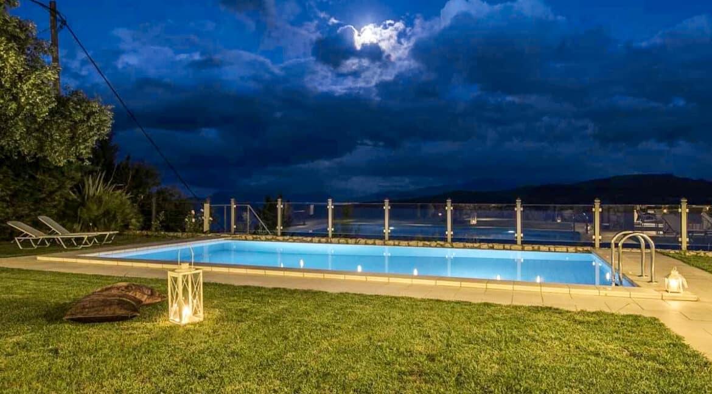 Luxury Villas in Lefkada Greece for sale, Hill Top Villa in Lefkada for Sale 1