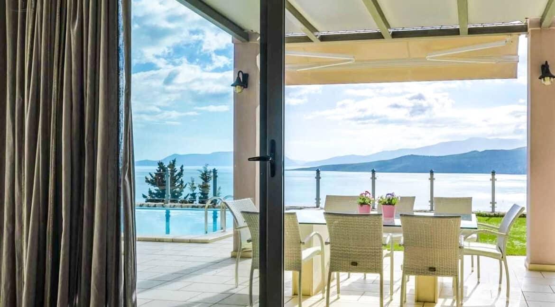 Luxury Villas in Lefkada Greece for sale, Hill Top Villa in Lefkada for Sale 15