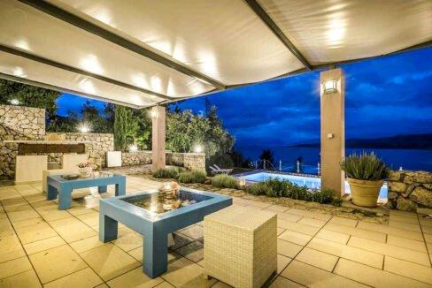 Luxury Villas in Lefkada Greece for sale, Hill Top Villa in Lefkada for Sale 2