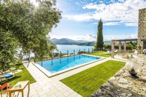 Luxury Villas in Lefkada Greece for sale, Hill Top Villa in Lefkada for Sale