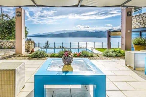 Luxury Villas in Lefkada Greece for sale, Hill Top Villa in Lefkada for Sale 23
