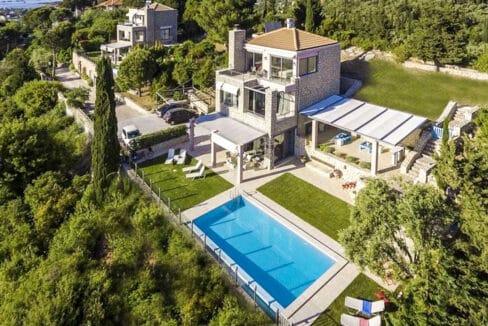 Luxury Villas in Lefkada Greece for sale, Hill Top Villa in Lefkada for Sale 27