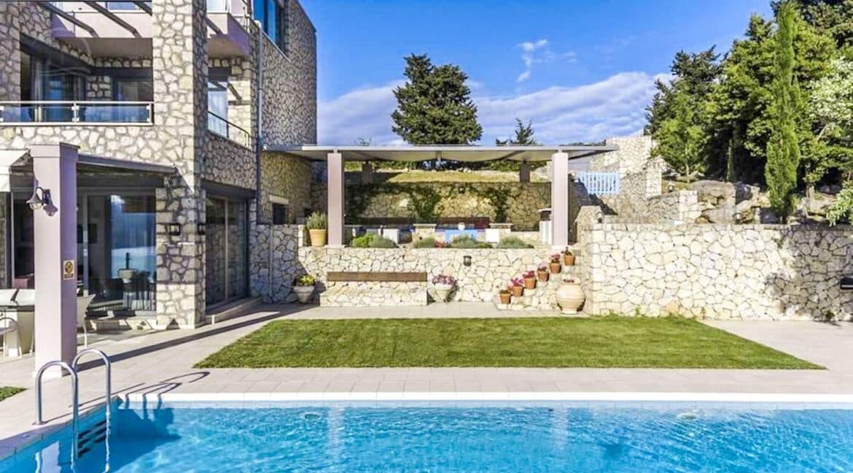 Luxury Villas in Lefkada Greece for sale, Hill Top Villa in Lefkada for Sale 28