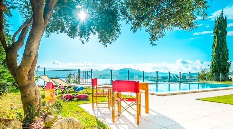 Luxury Villas in Lefkada Greece for sale, Hill Top Villa in Lefkada for Sale 29