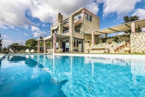 Luxury Villas in Lefkada Greece for sale, Hill Top Villa in Lefkada for Sale 30