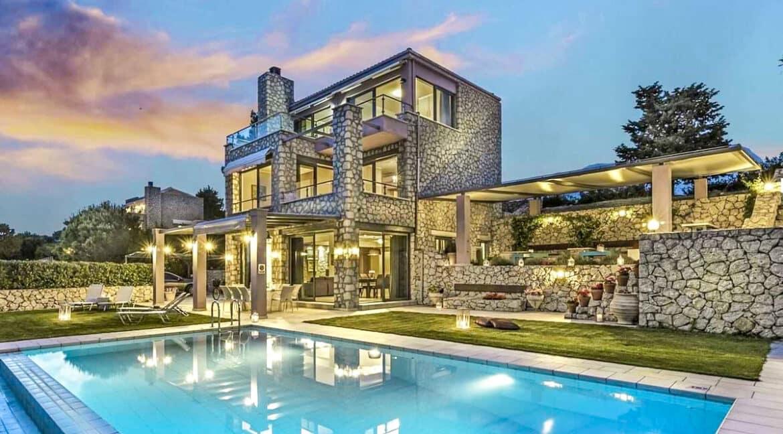 Luxury Villas in Lefkada Greece for sale, Hill Top Villa in Lefkada for Sale 8