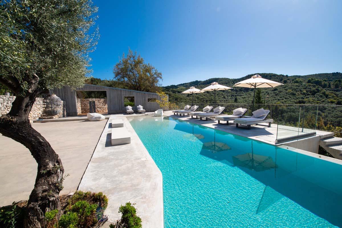 Sea View Villa in Lefkada Island