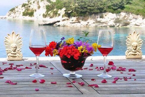 Seafront Estate Paxoi Greece, Ionian Islands. Paxoi Corfu Greece, Real Estate Antipaxoi, Seafront Properties in Greek Islands 20