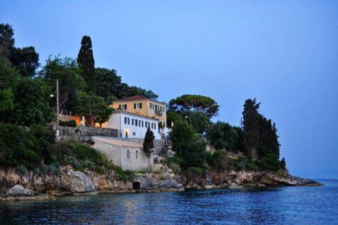 Seafront Estate Paxoi Greece, Ionian Islands. Paxoi Corfu Greece, Real Estate Antipaxoi, Seafront Properties in Greek Islands