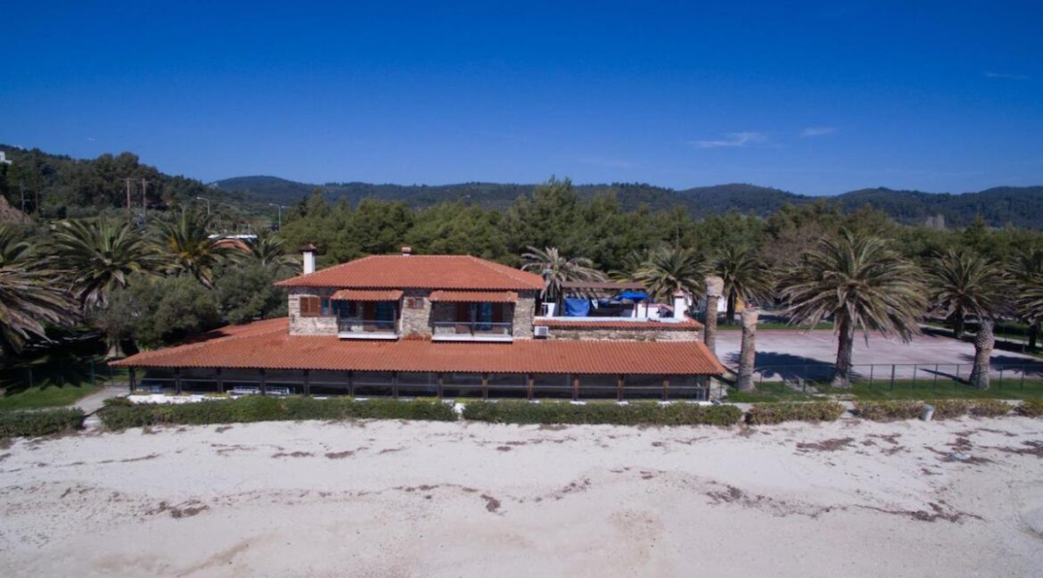 Seafront Land of 22 acres in Sithonia Halkidiki Ideal for Building a Hotel. Beachfront land Halkidiki Greece 10