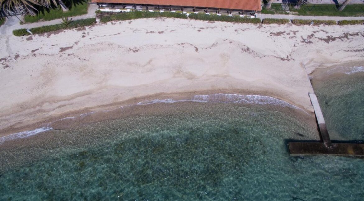 Seafront Land of 22 acres in Sithonia Halkidiki Ideal for Building a Hotel. Beachfront land Halkidiki Greece 11