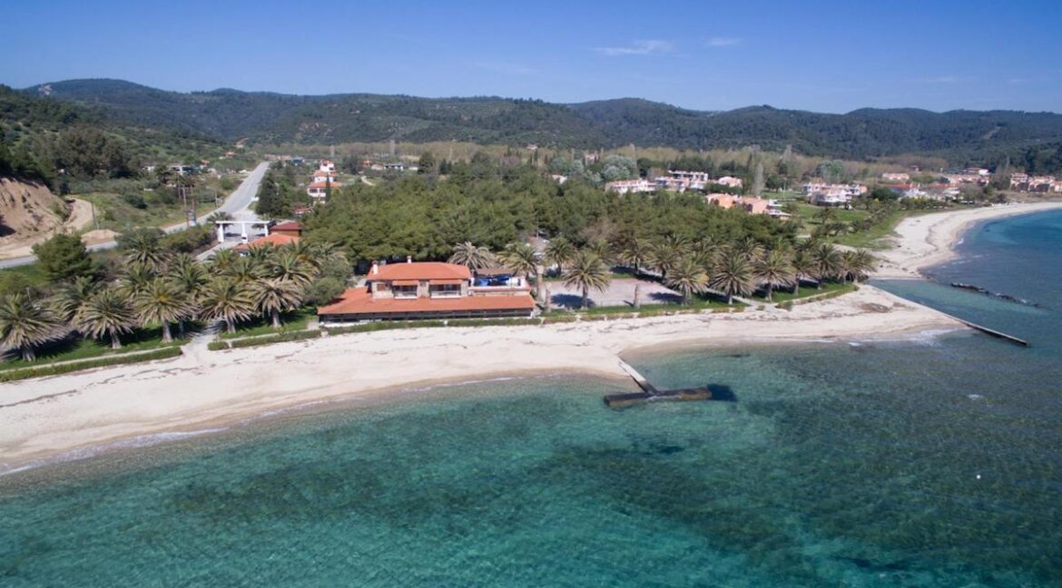 Seafront Land of 22 acres in Sithonia Halkidiki Ideal for Building a Hotel. Beachfront land Halkidiki Greece 12