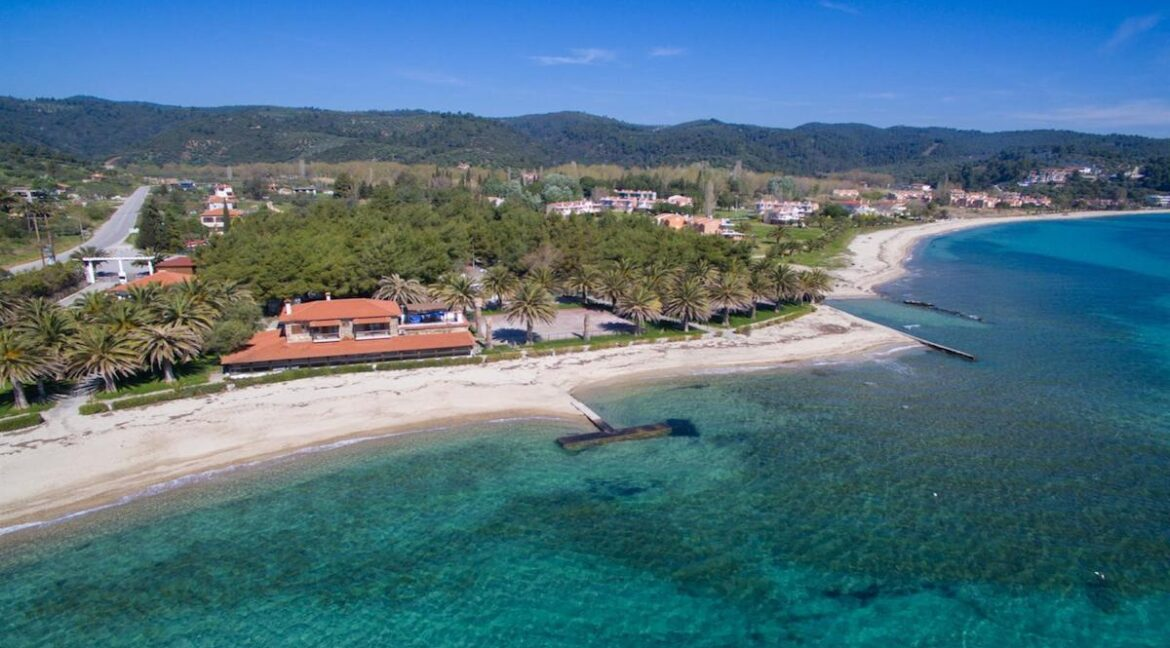 Seafront Land of 22 acres in Sithonia Halkidiki Ideal for Building a Hotel. Beachfront land Halkidiki Greece 13