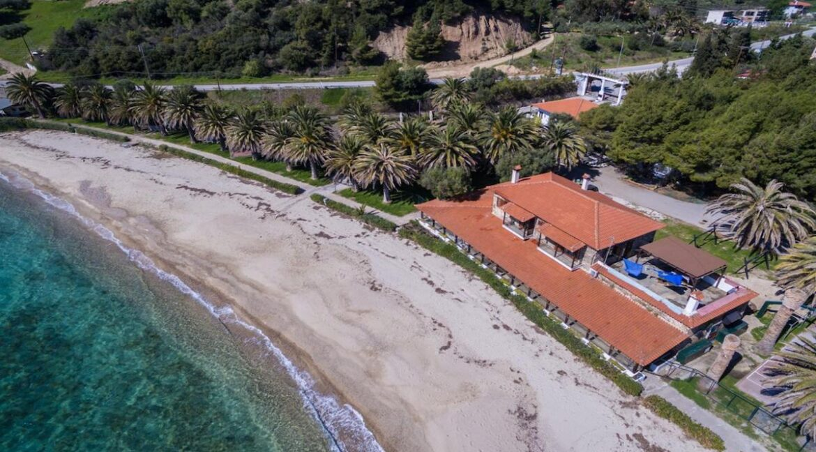 Seafront Land of 22 acres in Sithonia Halkidiki Ideal for Building a Hotel. Beachfront land Halkidiki Greece 14