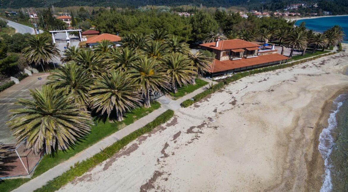 Seafront Land of 22 acres in Sithonia Halkidiki Ideal for Building a Hotel. Beachfront land Halkidiki Greece 18