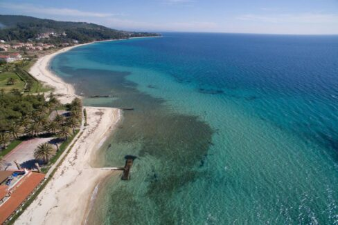 Seafront Land of 22 acres in Sithonia Halkidiki Ideal for Building a Hotel. Beachfront land Halkidiki Greece 2