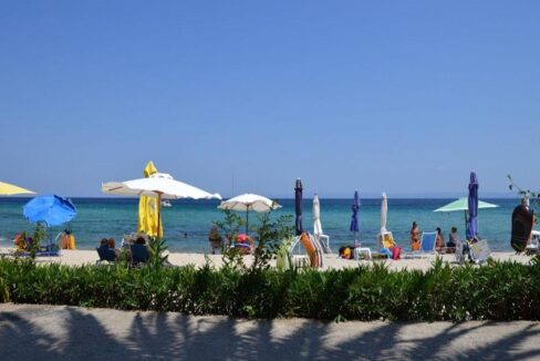 Seafront Land of 22 acres in Sithonia Halkidiki Ideal for Building a Hotel. Beachfront land Halkidiki Greece 20