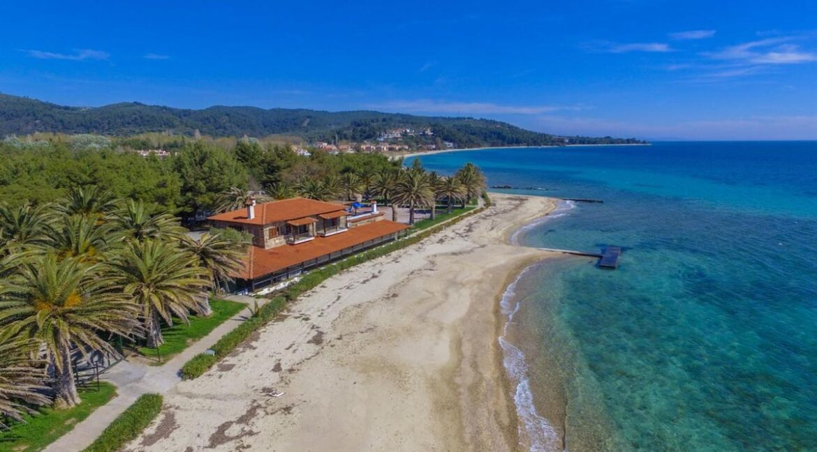 Seafront Land of 22 acres in Sithonia Halkidiki Ideal for Building a Hotel. Beachfront land Halkidiki Greece 24