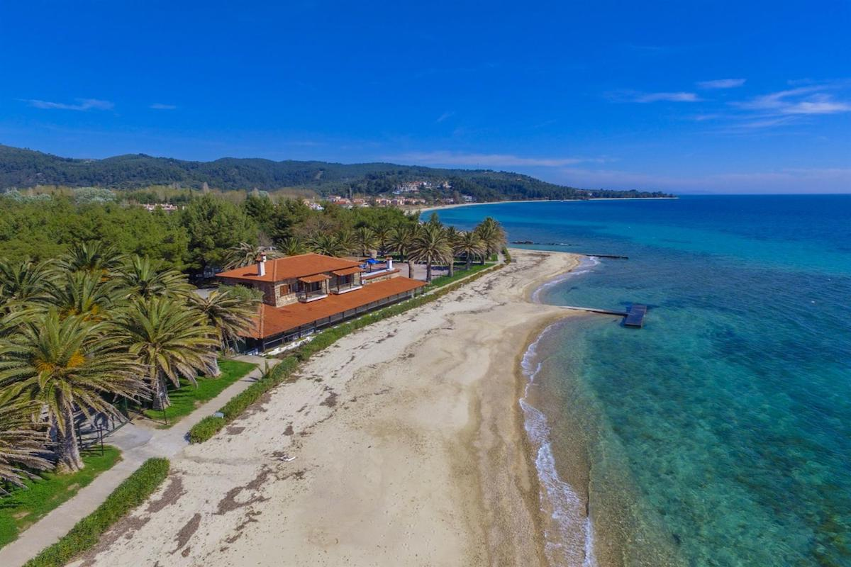 Seafront Land of 22 acres in Sithonia Halkidiki Ideal for Building a Hotel