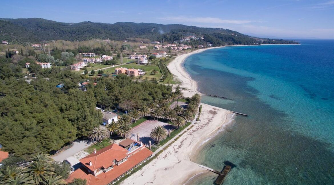 Seafront Land of 22 acres in Sithonia Halkidiki Ideal for Building a Hotel. Beachfront land Halkidiki Greece 3